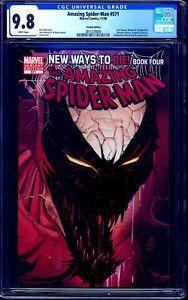 Amazing Spider-Man #571 VARIANT CGC 9.8 ANTI-VENOM COVER RARE NM/MT