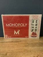 Brand New Monopoly 80th Anniversary Edition Sealed Family Board Game Hasbro
