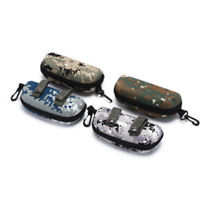 tactical zipper sunglasses box case shell hard eye glasses protective pouch HGSG