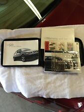 2002 SAAB 9-3 Owner's Manual with Case