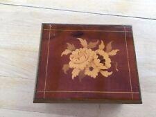 vintage art deco sorrento inlaid jewellery box