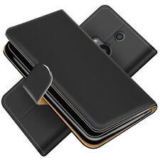 Handy Hülle für HTC One M8 Schutz Klapp Etui Booklet Flip Cover PU Leder Tasche