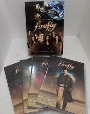 Firefly The Complete Tv Series 4-Disc Dvd Set 2002 Joss Whedon Sci-Fi Show