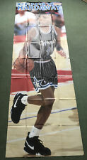 More details for vintage penny hardaway giant poster orlando magic basketball nba sports action