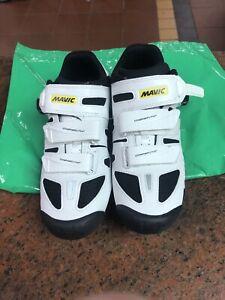 Mavic Womens Cycling Shoes Crossride Elite UK4 EU36 2/3 + SPD Cleats worn once