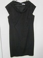 BLACK, WINTER WEIGHT , STRETCH DRESS, SIZE 14/16. target