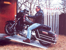Aluminum Loading Ramp 6 ft - Motorcycles Onto Trailers - USA Ramps 444 MCDR