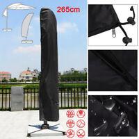 265cm Parasol Banana Umbrella Cover Waterproof Cantilever Outdoor Garden Shield