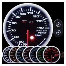 Depo Racing 52mm Celsius Water Temp 7 Color Peak Warning series PK5237BCEL