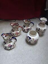 Masons Mandalay Red And Blue Antique Jug Set In Pristine Condition
