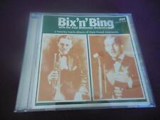 Bix'N'Bing BING Crosby Paul Whiteman CD LIKE NEW 1986 AJA Living ERA