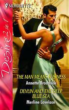 Good, The Man Means Business, Lovelace, Merline, Broadrick, Annette, Book