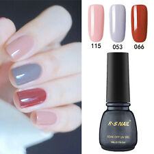 3 PIECES RS 053_066_115 Gel Nail Polish UV LED Varnish Soak Off Salon New Stock