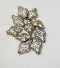 Beads Nepal Silver Flower Beads 22mm