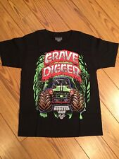 MONSTER JAM Truck Show GRAVE DIGGER Boys T Shirt Top NEW Size XL 14 16 X LARGE