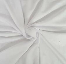White Hemp Organic Cotton Fleece Fabric by the Yard 10/19