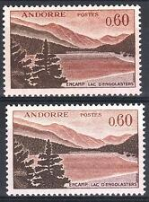 """ANDORRE STAMP TIMBRE 161A"""" CROIX MERITXELL 60c VARIETE COULEUR"""" NEUF xx SUP P412"""