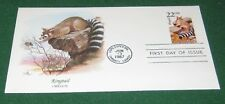 U.S. First Day Cover State Animals, Ringtail, Oregon 22 Cents 1987