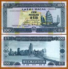 Macao / Macau 100 Patacas, 2003, P-78, BNU, UNC
