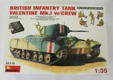 MiniArt British Infantry Tank Valentine Mk. I with Tank Riders in 1/35 116 ST DO