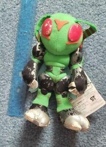 "RARE VINTAGE Stingmon Plush UFO Digimon Plush 6"" Used Japanese Bandai Banpresto"