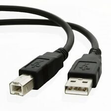 High Speed USB 2.0 USB A to B 1.8 Metre Data Sync Printer Hard Drive Cable Lead