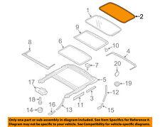VOLVO OEM 07-16 S80 Sunroof Sun Roof-Weatherstrip Seal 31218248