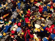LEGO / 10 Random Mini- Figures / Men / People / 1 Accessory W-each Fig / 10X