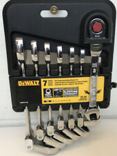 Dewalt Metric Flexible Flex Head Ratcheting Wrench Set DWMT74196 New