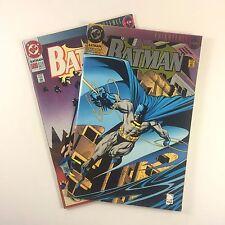 Batman #500 Set NM Quesada Jones Aparo Collectors Edition Die-Cut and 1st Print