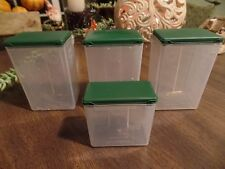 clear small plastic boxes with lids!