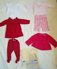 Girls Set of clothes from different Brands. Bundle of 7 items