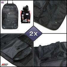 2X BACK SEAT ORGANISER BAG MULTI POCKET STORAGE HOLDER AUTO CAR VAN MOTORHOME