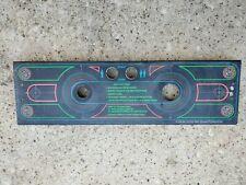 New listing Tron Control Panel (Arcade Midway Bally Cpo Overlay Joystick)