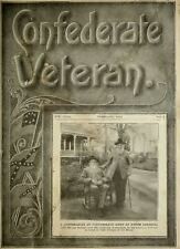 The Confederate Veteran Civil War Magazine Genealogy Dixie Old History on CD DVD