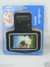 B4:New Sports Armband Case Hold for Android Smartphones J1-Black