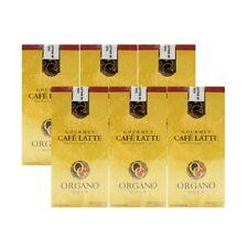 (6 cajas) Organo Gold Gourmet café con leche Ganoderma café 20 Sobres Express