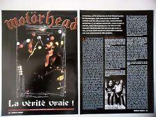 COUPURE DE PRESSE-CLIPPING :  MOTÖRHEAD [3pages] 01/2002 Fast Eddie Clarke
