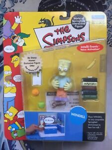 Playmates THE SIMPSONS Wendell WOS Action Figure MOC