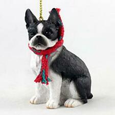More details for large boston terrier christmas decoration ornament gift/present dog