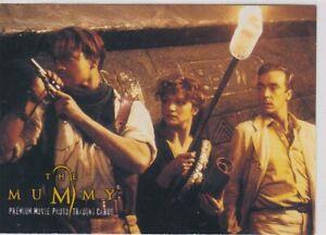 1999 THE MUMMY PROMO TRADING CARD P1 BRENDAN FRASER RACHEL WEISZ JOHN HANNAH