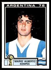 COUPE DU MONDE PANINI HISTOIRE 1990 - MARIO ALBERTO KEMPES (Argentine) N°107