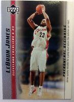 2003 03-04 Upper Deck Phenomenal Beginning LeBron James Rookie RC #3, Cavs MVP !
