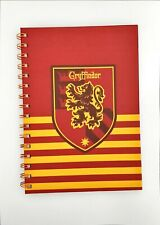 Harry Potter Notebook Gryffindor A5 New Unused School Blank Book