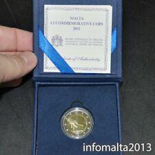 2011 Malta MÜNZE PP 2 Euro Proof Coin with box and certificateGEDENKMÜNZE