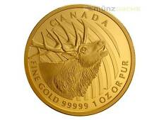 200 $ Dollar Appelez le Région déserte Elk Red deer Canada 2017 PP 1 once Or