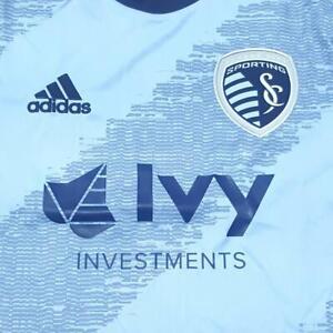 Adidas 2019 Sporting KC Replica MLS Soccer Jersey - NWT SKC