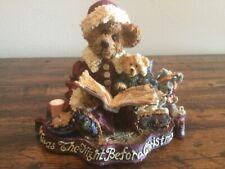 "Boyds Bears Bearstone ""Alexis Bearinsky…The Night Before Christmas� Gcc - Nib"
