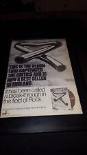 Mike Oldfield Tubular Bells Rare Original Promo Poster Ad Framed!