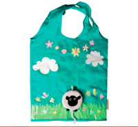 Sass & Belle Sheep Reusable Foldable Shopping Bag Fold Away Animal Handbag